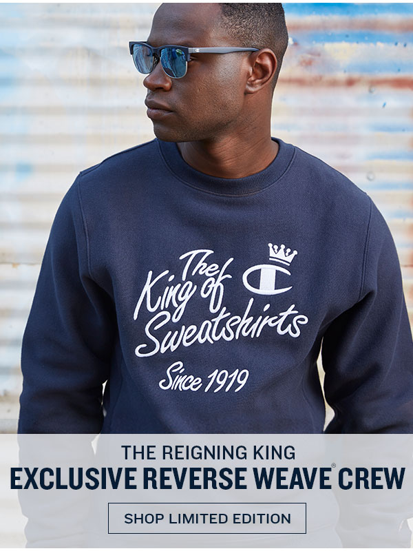 King Of Sweatshirts Exclusive - Turn on your images