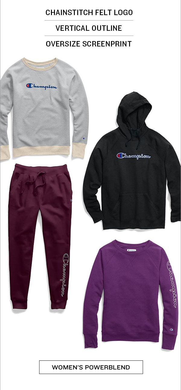 New Women's Powerblend Sweats-Turn on your images