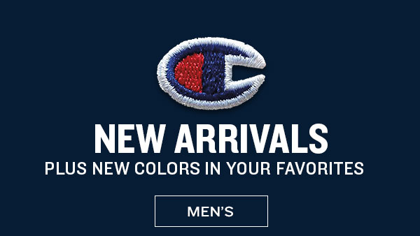 Men's New Arrivals & New Colors - Turn on your images