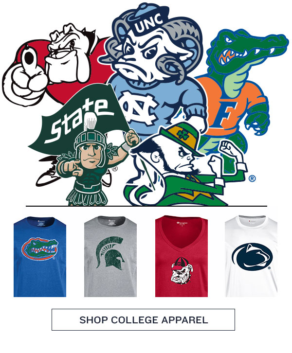 Customizable College Apparel - Turn on your images