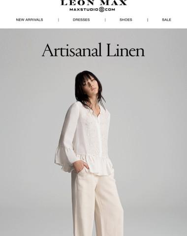 Just Arrived | Artisanal Linen