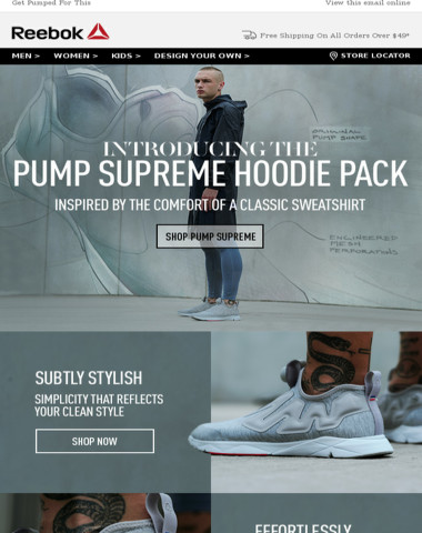 Pumped With Style & Comfort
