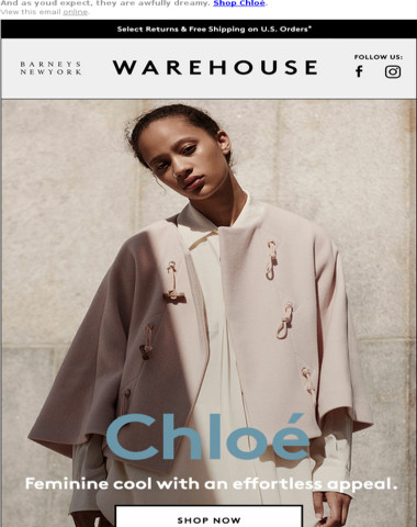 Save on New Arrivals From Chlo=?UTF-8?B?w6k=?=!