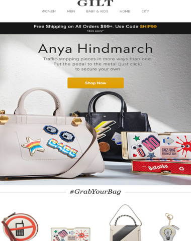 Wear Without Caution: New Anya Hindmarch Arrivals