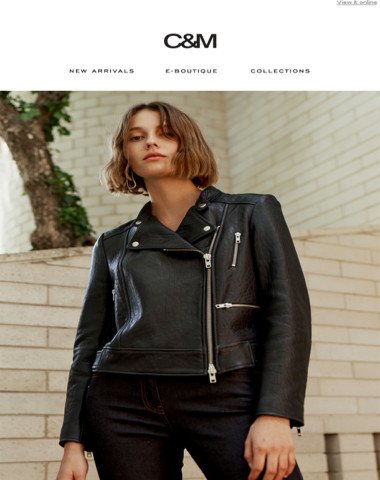 C&M: Introducing the Tempo Leather Jacket