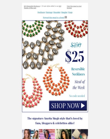 Now $25: Our most coveted necklace.