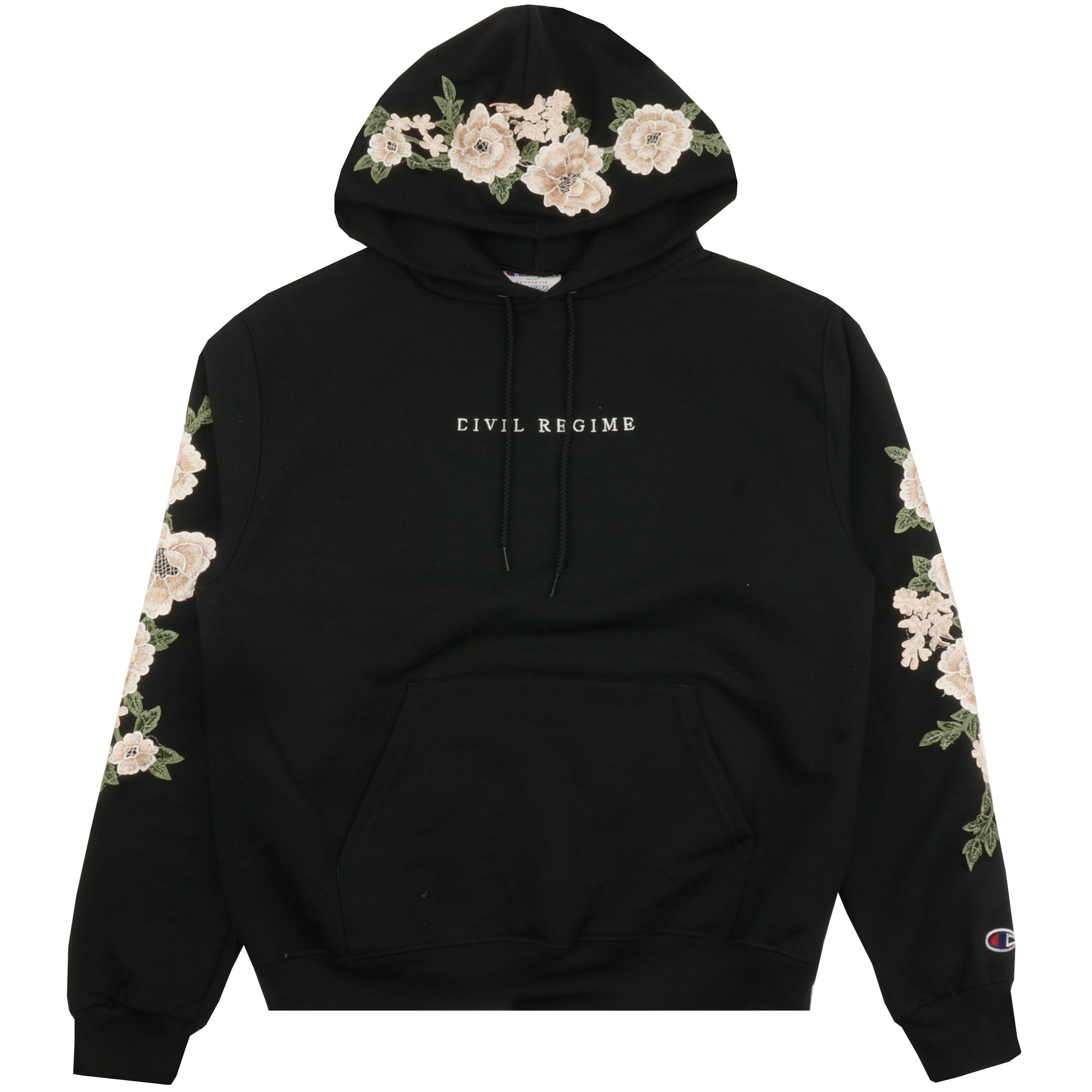 Champion Rose Hoodie in Black