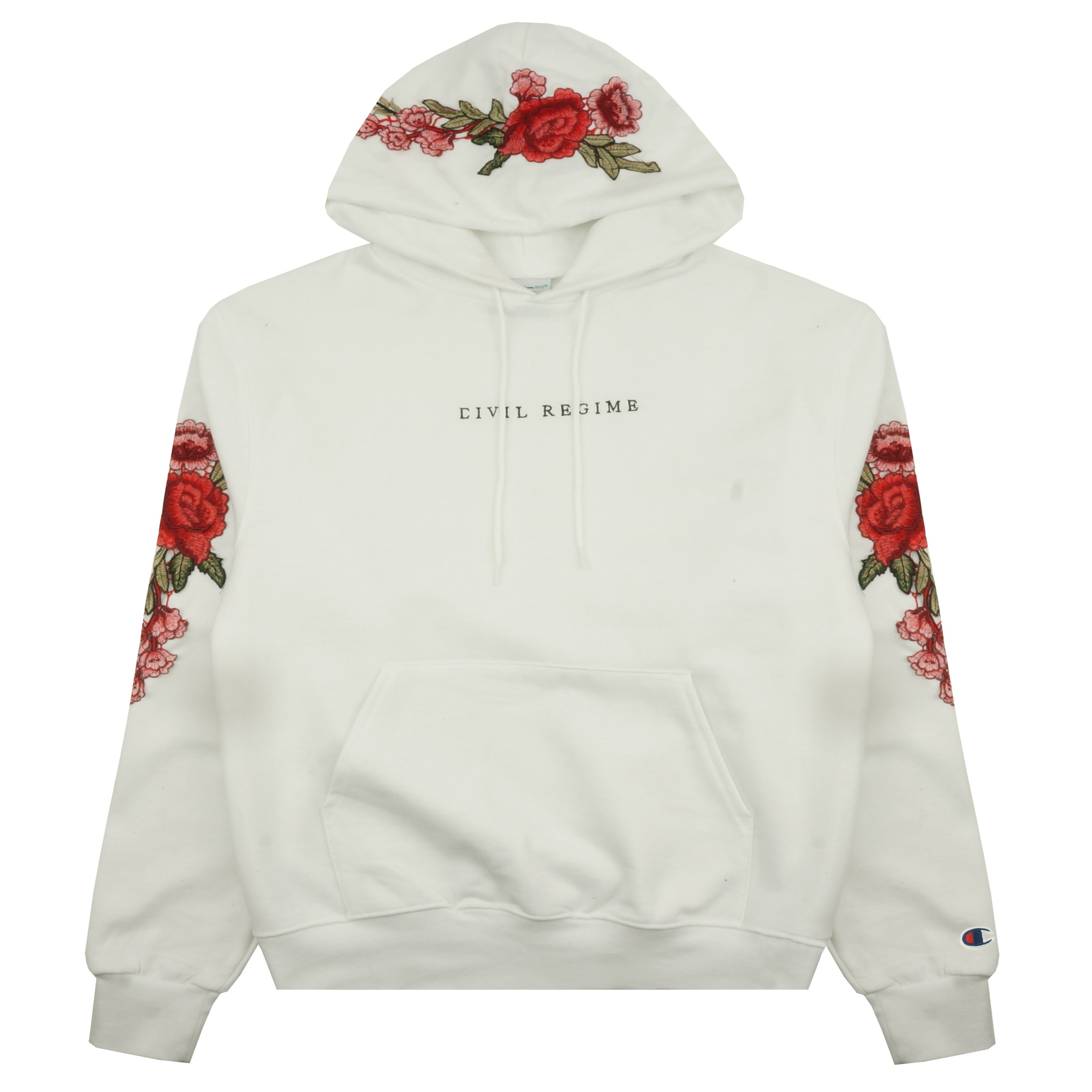 Champion Rose Hoodie in White
