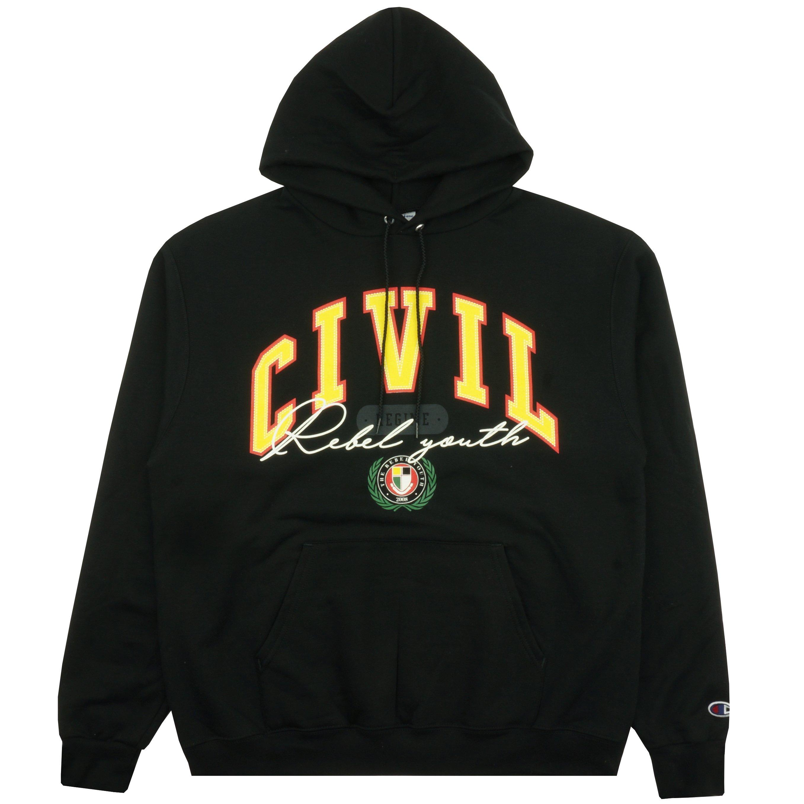 Alumni Hoodie in Black