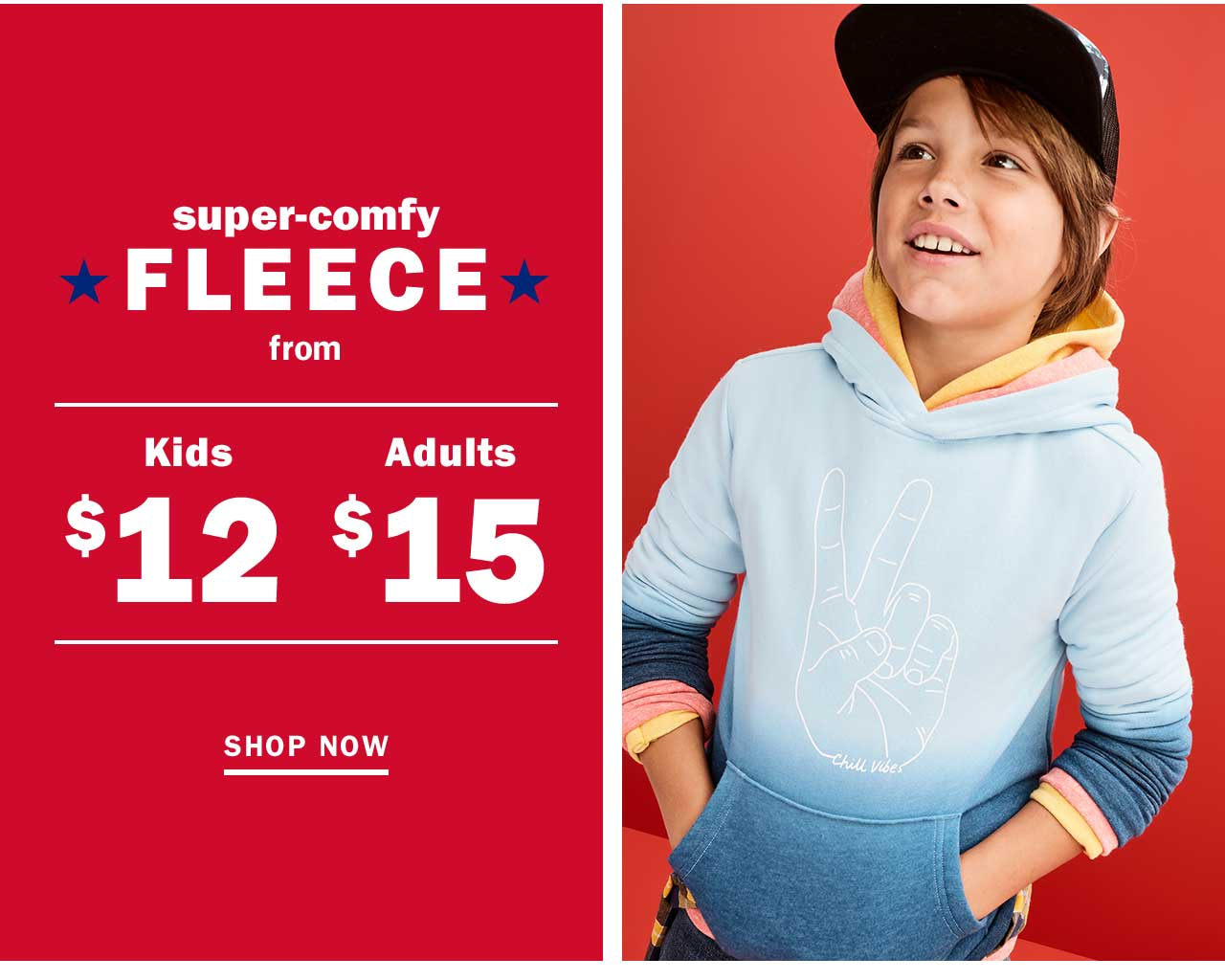 super-comfy FLEECE | SHOP NOW
