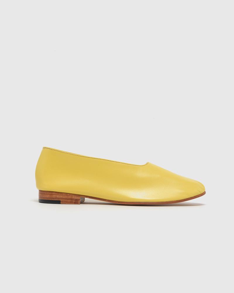 Glove Shoe in Banana by Martiniano