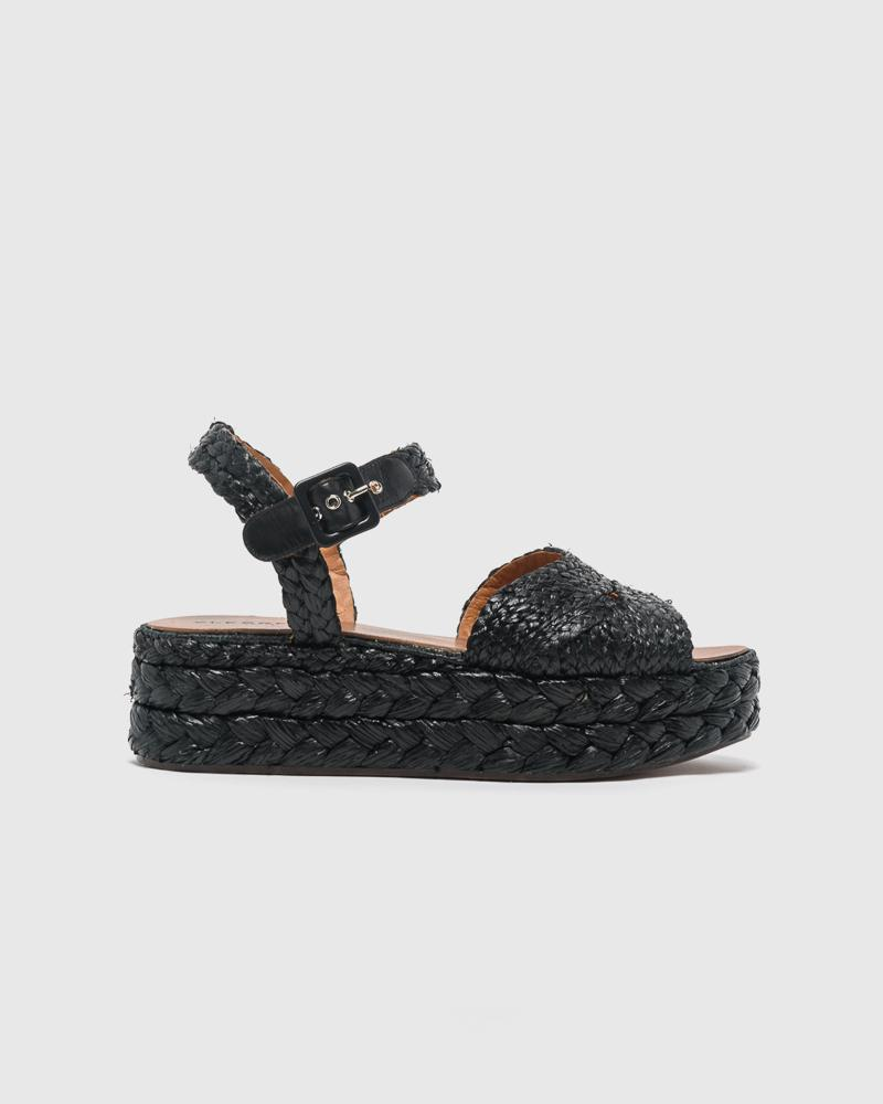 Aude Sandal in Black by Clergerie