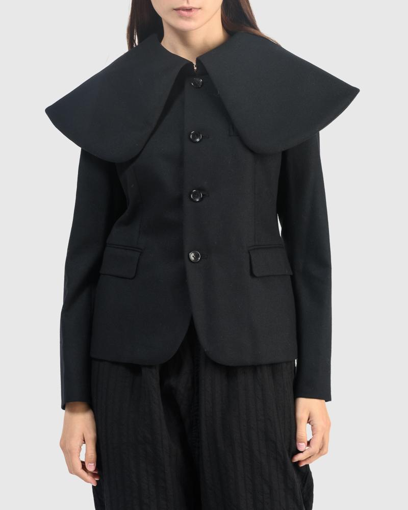 J011 Jacket in Black by Comme des Garcons
