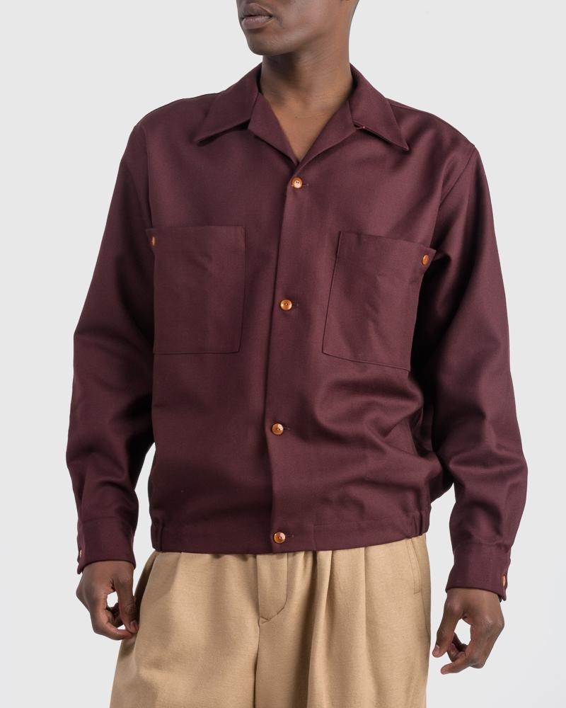 Shirt in Wine by Haversack
