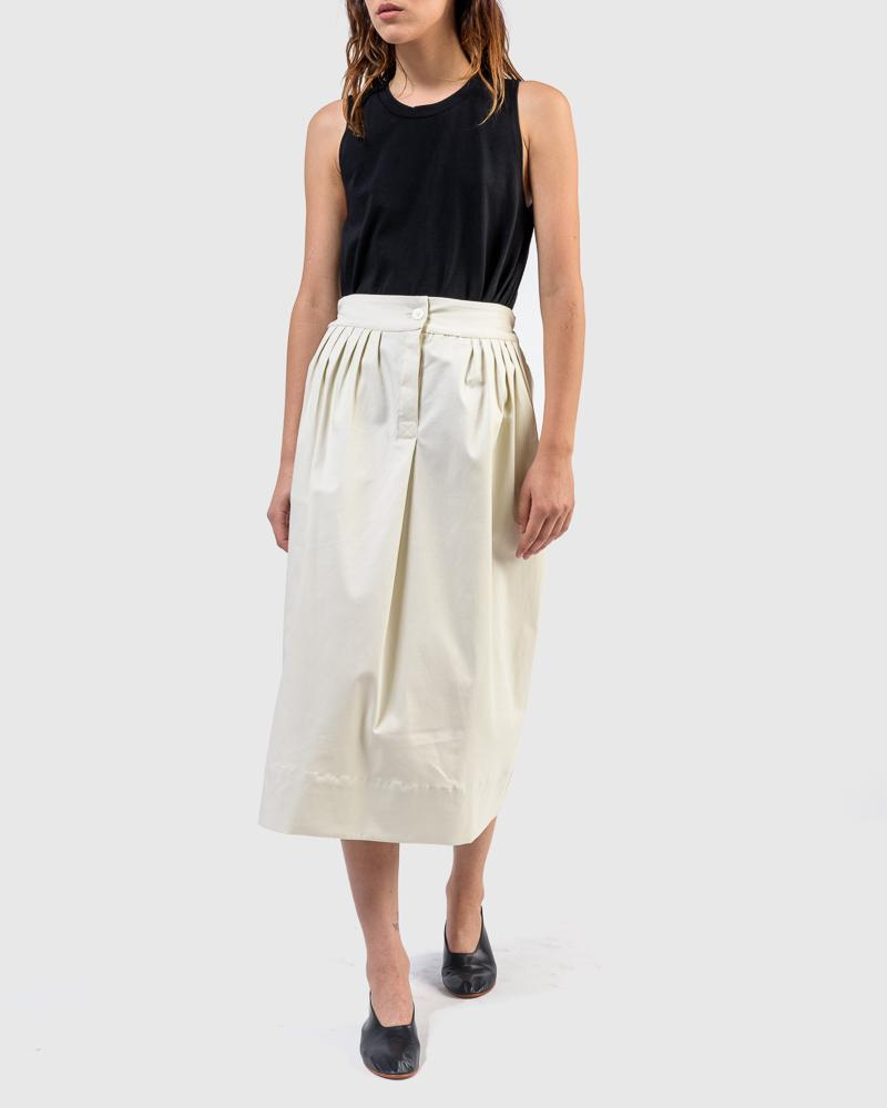 The Nao Skirt in Ecro by SMOCK