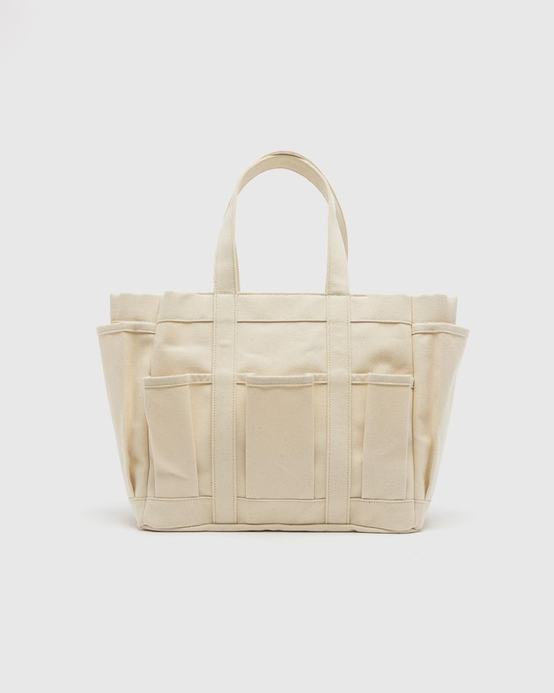 Canvas bag in Natural by Comme des Garcons Shirt