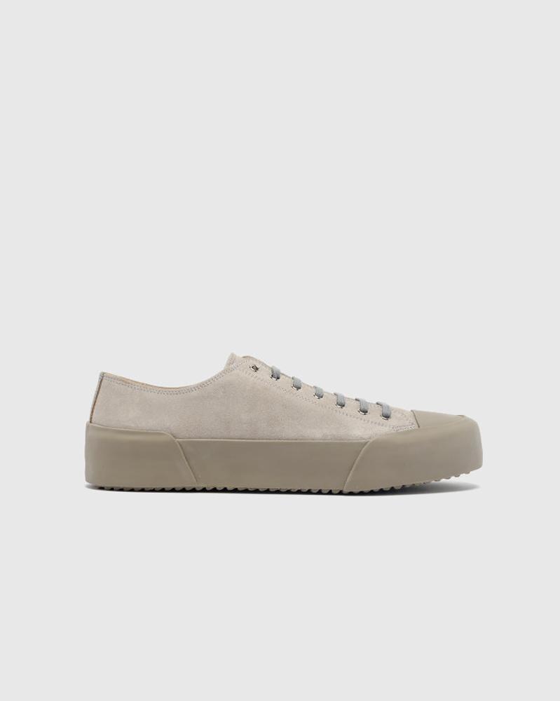 Sneaker in gray by jil sander
