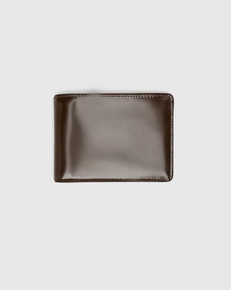 Classic wallet in brown by Dries van Noten