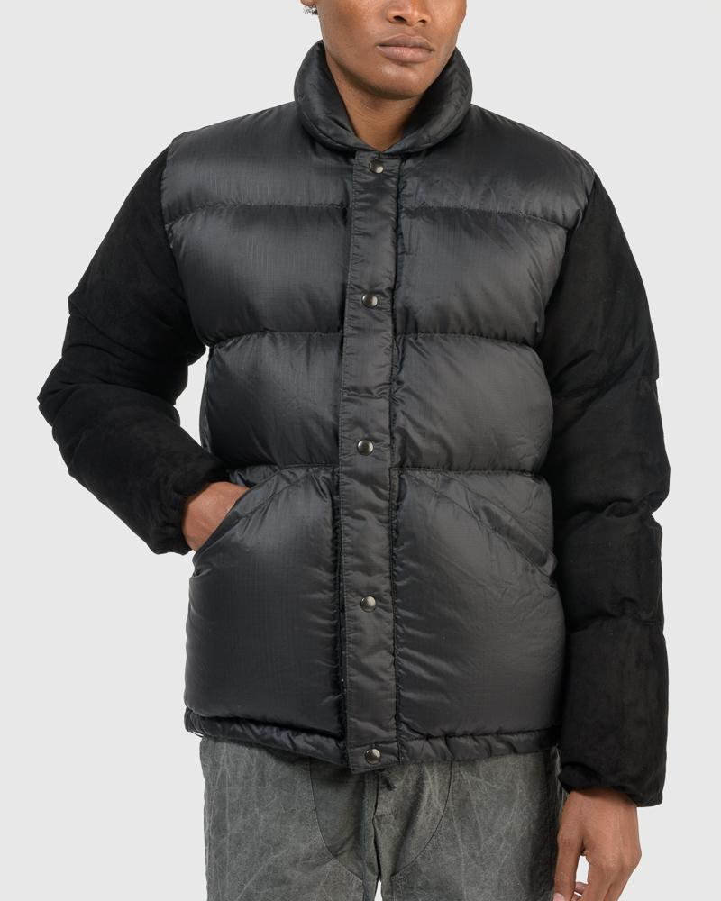 Kluane X Down Coat in Black by Stay Made
