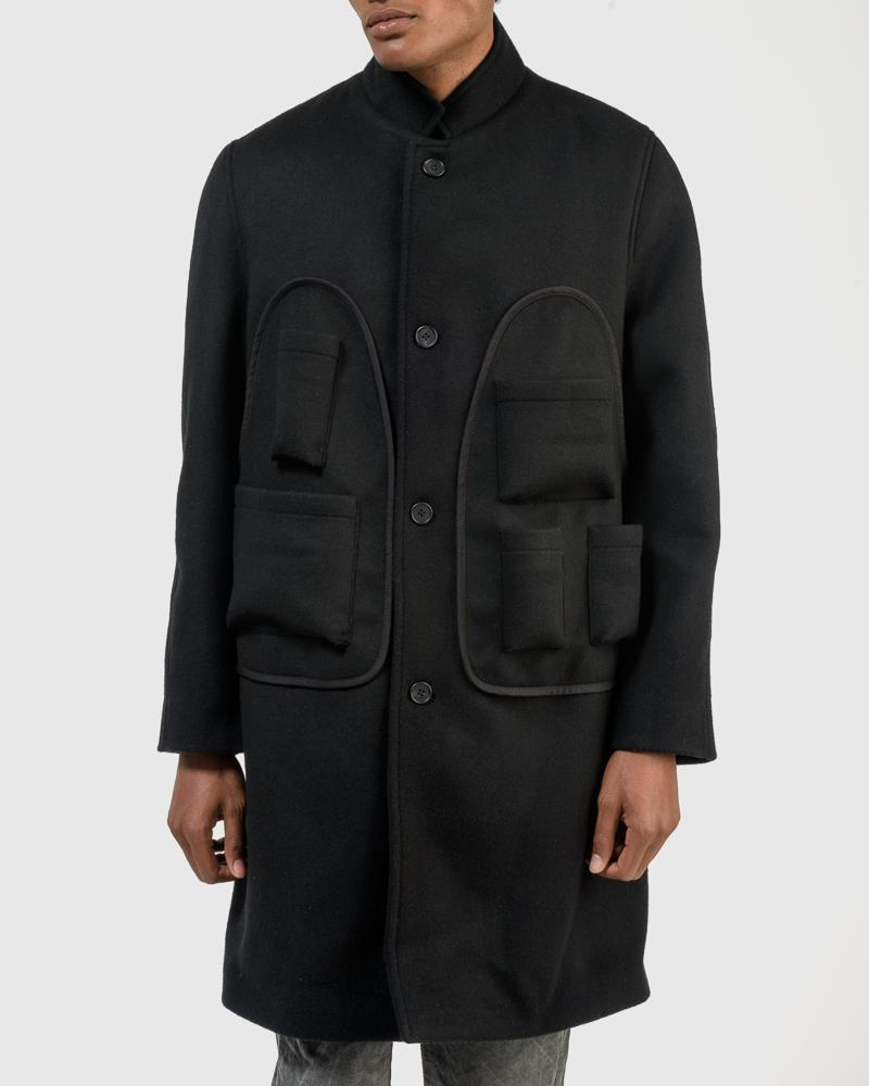 Beuys Coat in Blacy by Stay Made