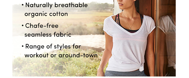 Naturally breathable organic cotton