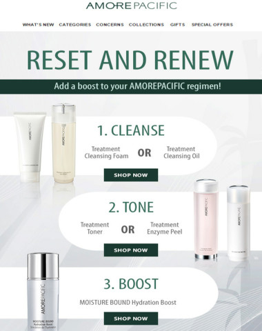 Reset and Renew for Spring