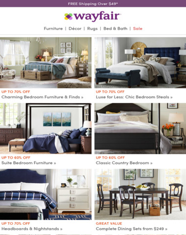 A bedroom collection brimming with cottage charm