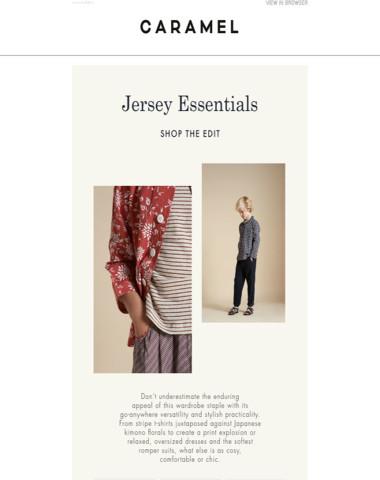 Jersey Essentials | Shop the Edit