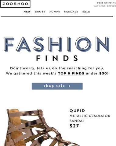 Fashion Finds!