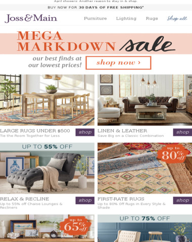 Large rugs UNDER $500 are here!