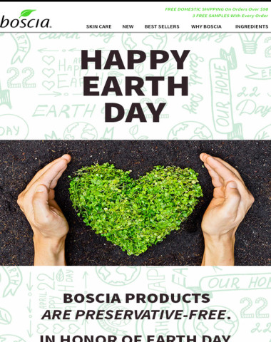 Happy Earth Day! Take 15% off your purchase!