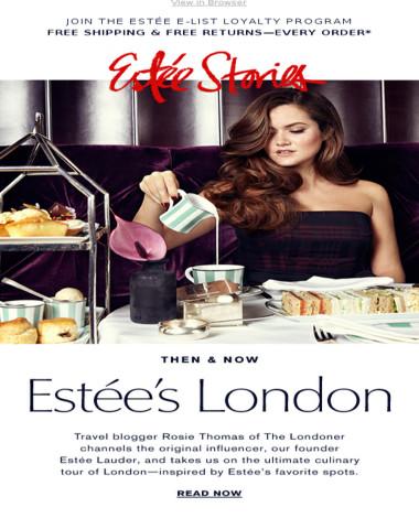 A Taste of London. Estée Stories.