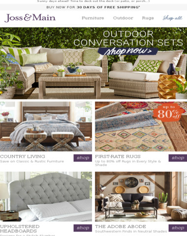 Outdoor Conversation Sets: We've rounded up our favorite picks just for you