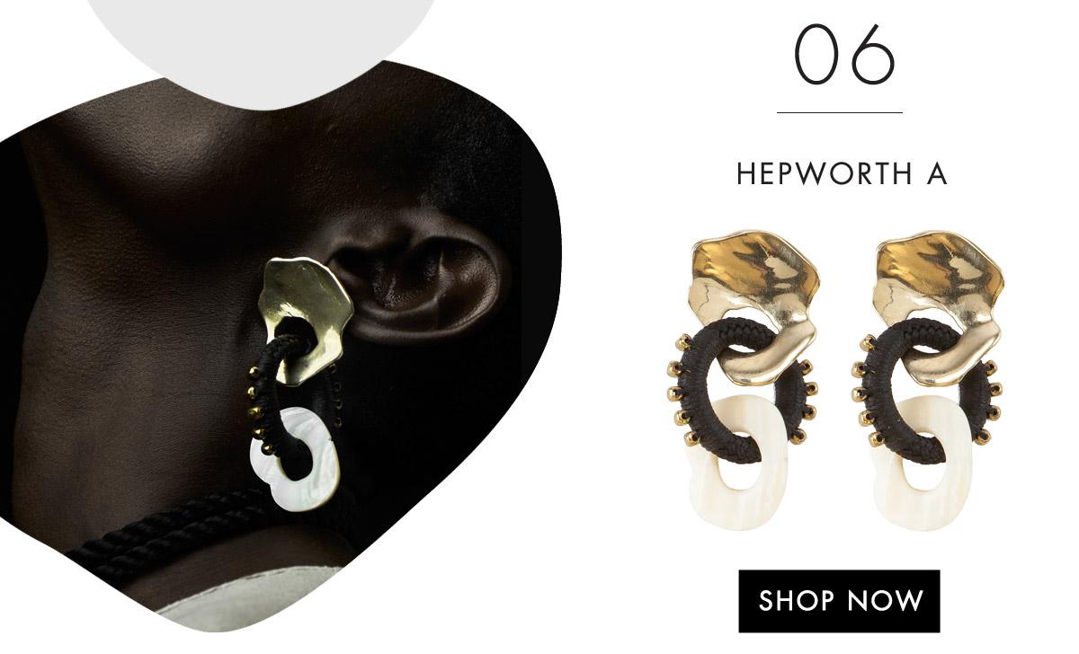 Hepworth A Earrings