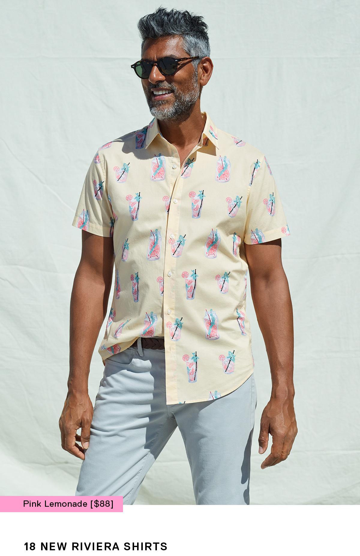 18 New Riviera Shirts