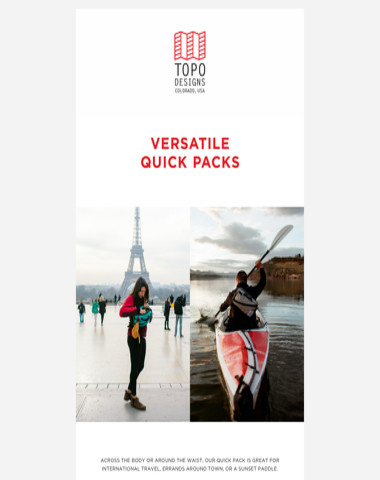 Versatile Quick Packs