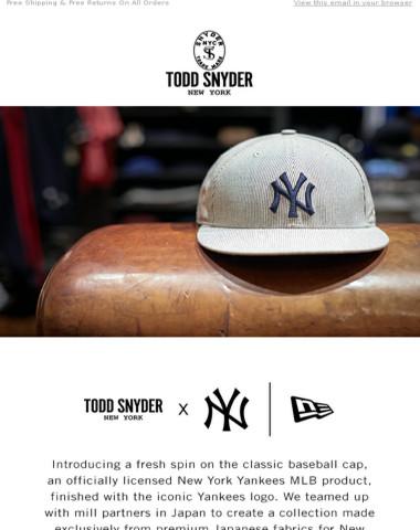 0c4481cea37ba Todd Snyder - Just In! Todd Snyder x Yankees