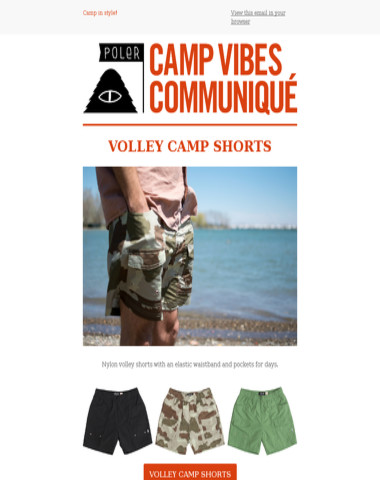 Camp Shorts & Button-ups!
