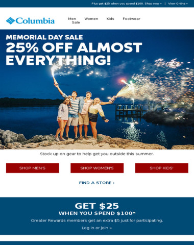 The Memorial Day Sale is here!