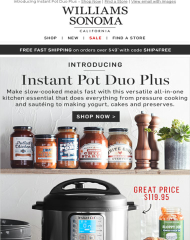 It's HERE! Instant Pot: The All-in-One Machine for Under $120 – In Stores & Online