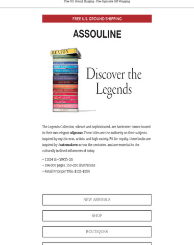 Discover the Legends