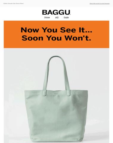 Online Sample Sale Starts Now!