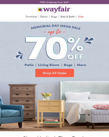 Whoa. 1,000s of Memorial Day price cuts inside ➡
