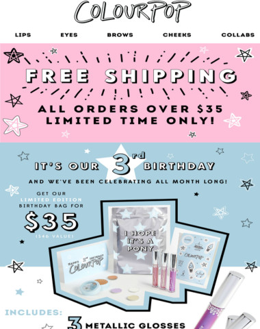 FREE SHIPPING + surprises!!
