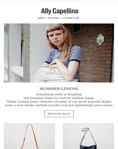 Ally Capellino  |Summer Linens in the City