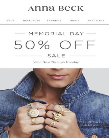SALE   Memorial Weekend Savings
