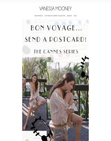 Bon Voyage, Send A Postcard!