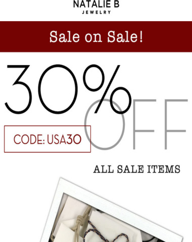 But first...SALE!