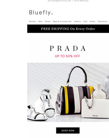 This Is Good: PRADA Up To 50% Off + Extra 20% Off 1,000s Styles