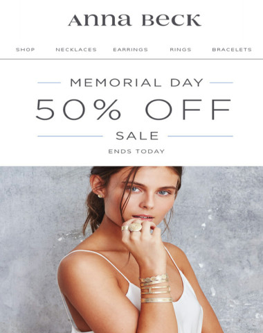 Final Hours   Memorial Day SALE